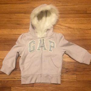 BABY GAP Fleece Lined Sweatshirt